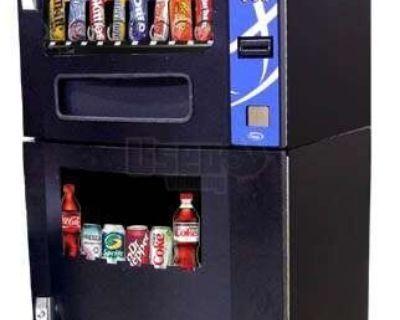 (2) - 2013 Seaga VC630 Electronic Snack & Soda Vending Machines!!!