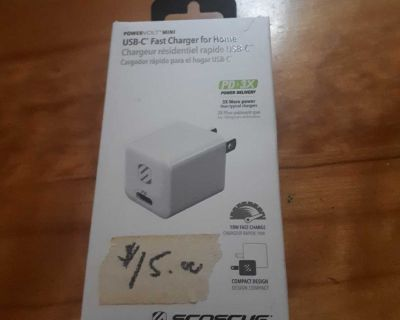 Scosche usb c fast charger for home