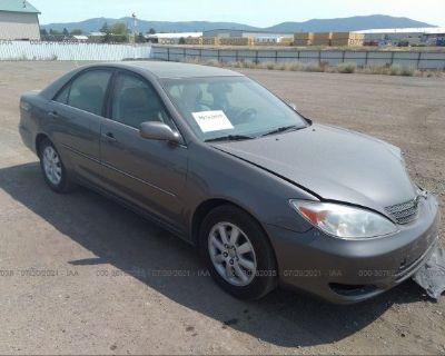 Salvage Gray 2002 Toyota Camry