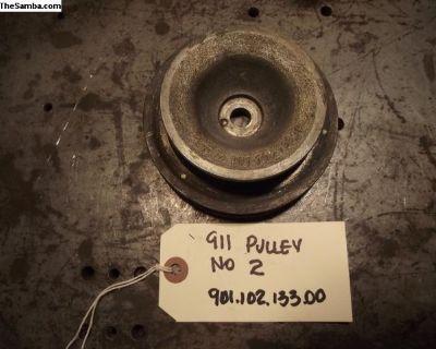 Porsche 911 Crankshaft Pulley With Factory Air