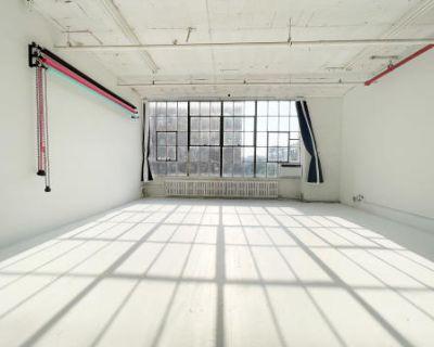 All Day Light Studio + Free Equipment in East Williamsburg, Brooklyn, NY