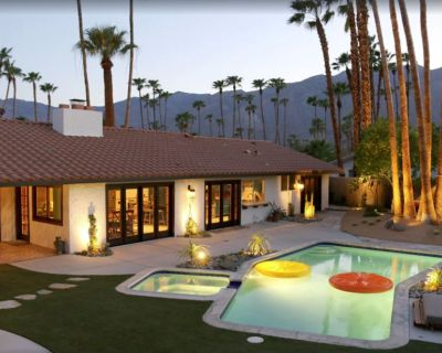 NEW! Designer Luxe Modern Home Saltwater Pool/Spa Mtn Views - South Palm Springs - Sonora Sunrise