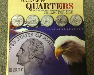 American State Quarters Series Booklet Coin Collection