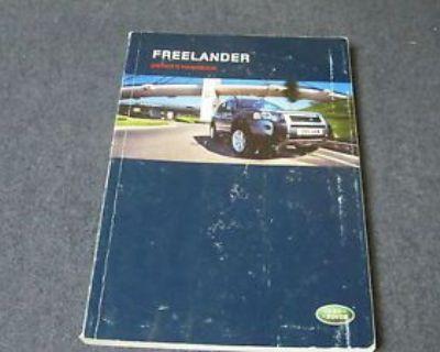 2003 Landrover Freelander Used Owner's Onwers Manual Book Mr Remotes