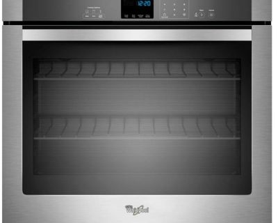 """Whirlpool WOS51EC0AS 30"""" Stainless Steel Electric Oven"""