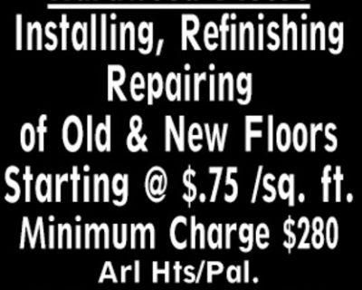 Hardwood Floors Installing, Re...