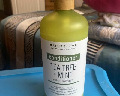 New tea tree and mint conditioner