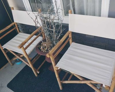 Bamboo chair's