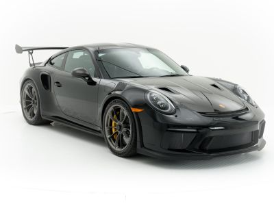CPO: 2019 Porsche GT3 RS Black with Weissach Package