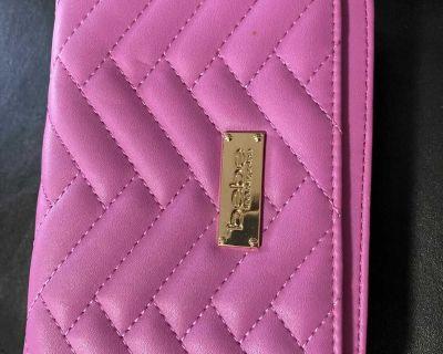 Bebe Pink clutch *brand new*