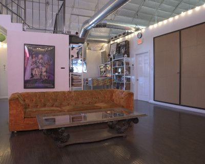 Unique Modified Airplane Hangar Warehouse, Los Angeles, CA