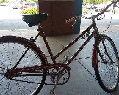 1960s vintage jcpenny womens bike