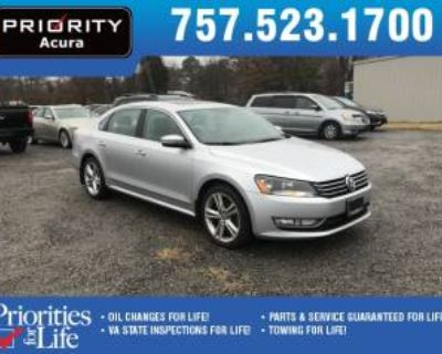 2015 Volkswagen Passat 1.8T SE with Sunroof & Navigation Auto (PZEV)