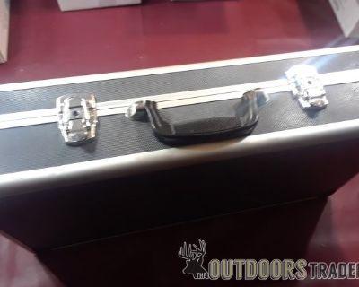 FS 20 ea Aluminum double lock cases 24x12x4 styrofoam inserts