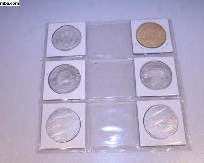 VW Benson Dealership Coin Collection