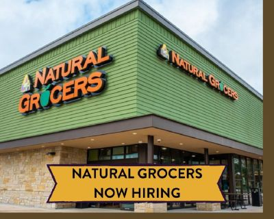 Natural Grocers Now Hiring