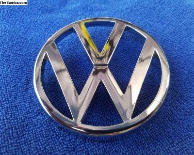 NOS OEM Volkswagen Van T25 Grill Emblem
