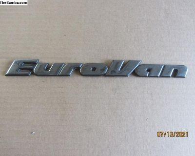 EuroVan emblem D-b9