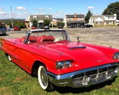 1960 Ford Sorry Just Sold!!! Thunderbird Roadster