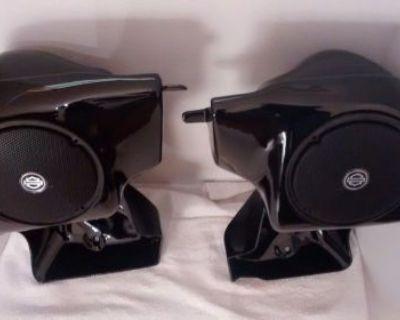 Harley Davidson Custom Molded 6.5 Speaker Non Vented Lower Fairings