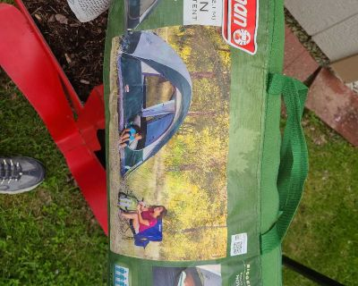 New Coleman 4 person tent