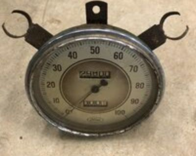 1936 Ford speedometer
