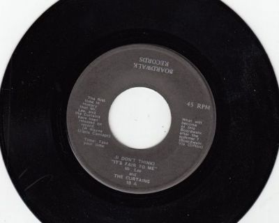 MR. LEE & CURTAINS ~ I Don't Think It's Fair To Me*Mint-45 !