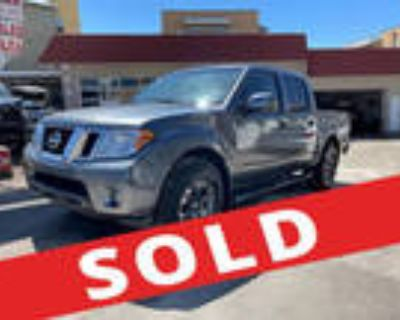 Repairable Cars 2019 Nissan Frontier Crew Cab for Sale