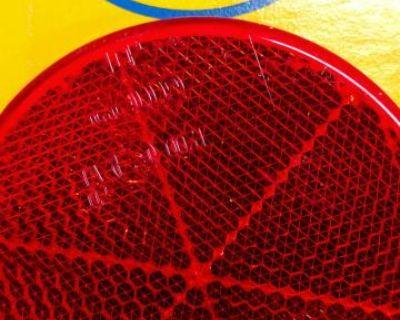 Hella reflectors great for vintage bus or trailer