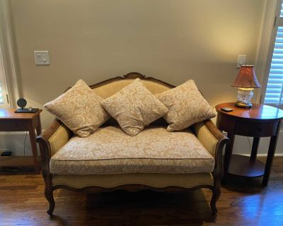 Settee, couch, sofa