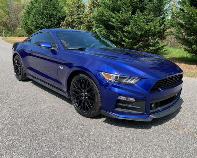 2016 Mustang GT Premium Perf Package, Supercharged, Katzkin interior, $31K