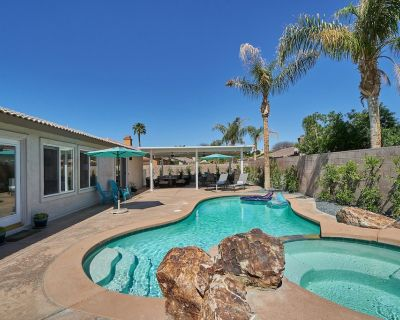NEW! Relaxing Getaway - Heated Pool, Game Room, BBQ Grill and More - La Quinta