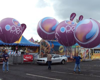 Trending Helium Inflatables for Branding