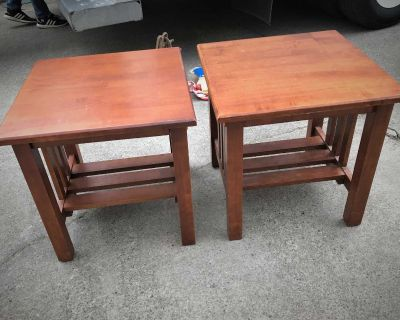 Pair End Tables.