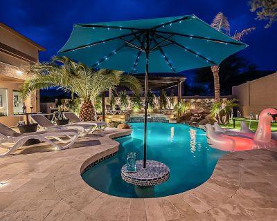 8BR/5.5 Bathroom w/ HEATED pool & hot tub, Billiards, Mini Putting green, & more - Peoria