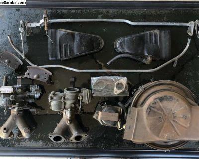 VW dual solex carbs
