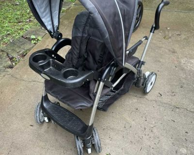 Gaco Sit and Stand Double Stroller