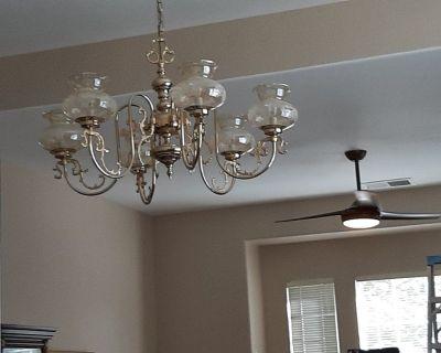 free brass chandeliers