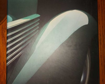Beaute Mobile - large illustrated book in French - Classic Cars exhibition at Beaux-Arts, Montreal