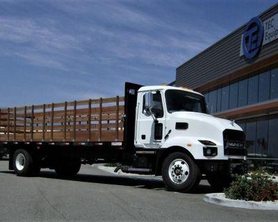 2022 MACK MD6 Stake Trucks Medium Duty