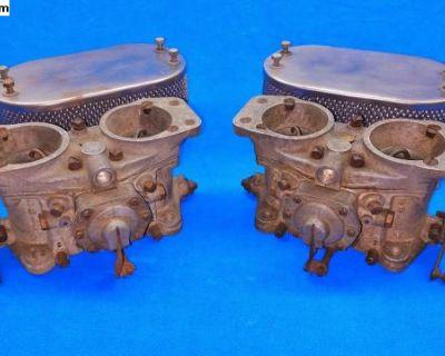 Porsche Carrera 4 Cam Sand cast 40 PII Carburetors