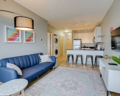 Spacious and Modern 1BR Flat + Gym - Prospect Park