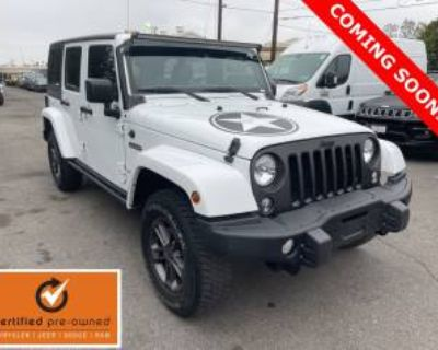 2018 Jeep Wrangler Unlimited Freedom Edition (JK)