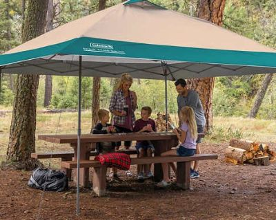COLEMAN 13'x13' CANOPY SHELTER UMBRELLA New in Carry Bag