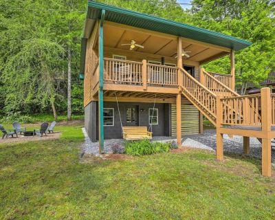 NEW! Riverfront Cabin w/ Fire Pit: Hike & Explore! - Murphy