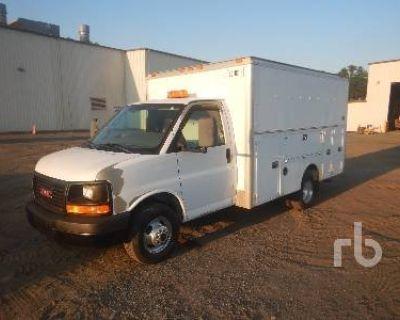 2008 GMC SAVANA ENCLOSED UTILITY VA Passenger Vans Truck