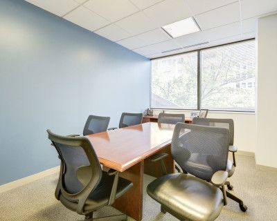 Exterior Meeting Room in Maryland's Premier Market, Bethesda, MD