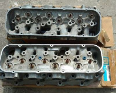 1969 427 L88 Zl1 Camaro Corvette Factory 3946074 Heads Early Dates