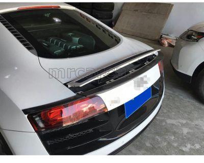 Audi R8 unique 3-piece Carbon Trunk Lid Spoiler, NO DRILLING!