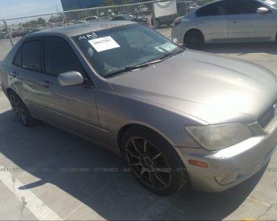 Salvage Gray 2003 Lexus Is 300